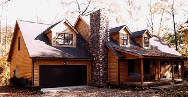 Here s a Log Home That Looks Grand in Any Surrounding